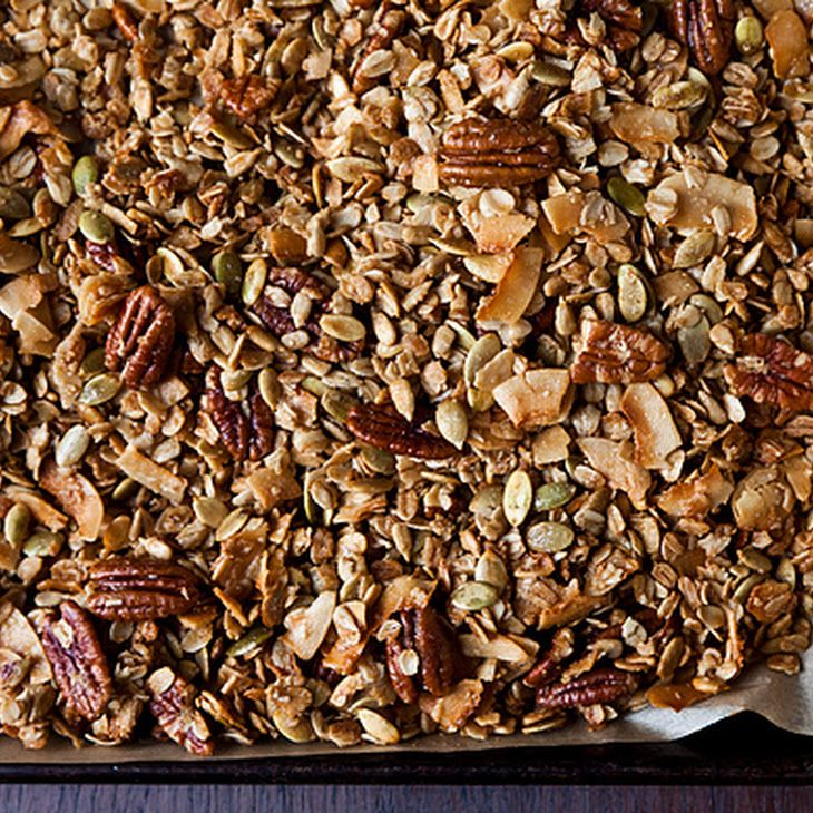 Nekisia Davis' Olive Oil And Maple Granola Recipes — Dishmaps