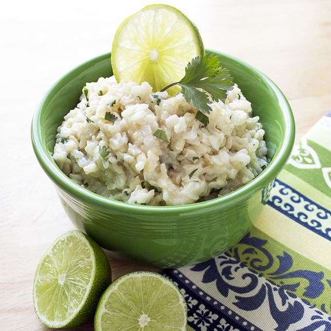 Copycat Chipotle Cilantro Lime Brown Rice | Recipe