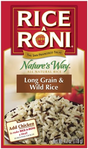 Rice a Roni Long Grain and Wild Rice, 4.2-Ounce « Lolly Mahoney
