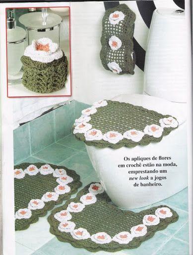 Juegos De Baño A Crochet:De crochet