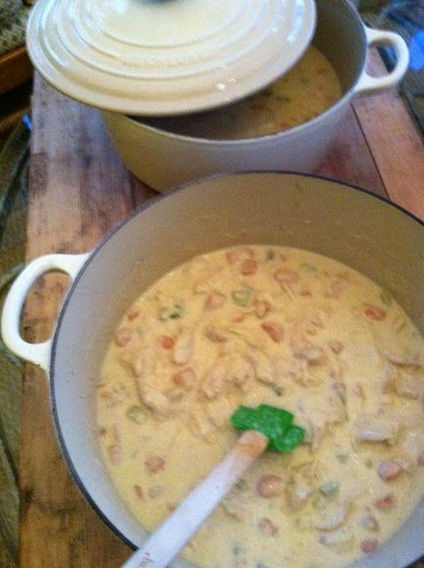 creamy chicken stew | Favorite Recipes | Pinterest