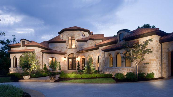 Stone Custom Dream Home Home Design Ideas Pinterest