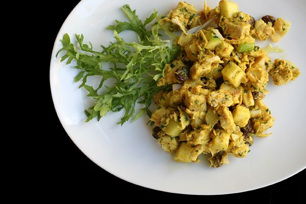 Curried Turkey salad - great for left-over turkey, or use rotisserie ...