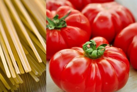 The greatest five-minute tomato pasta on earth