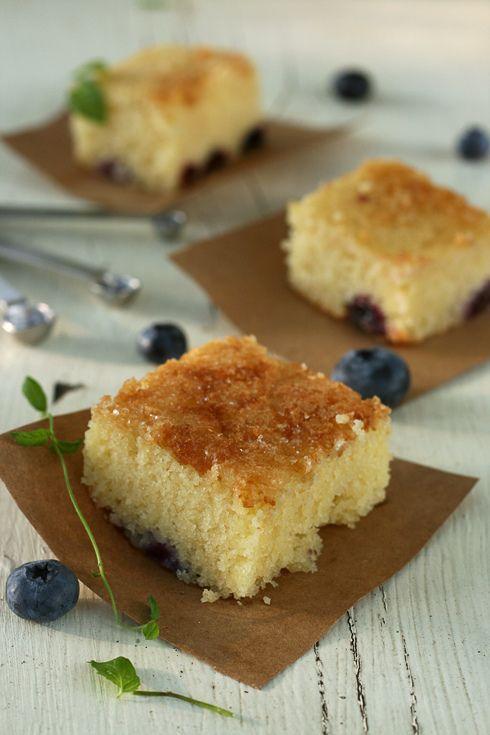 Blueberry cake--aka blueberry boy bait | desserts | Pinterest