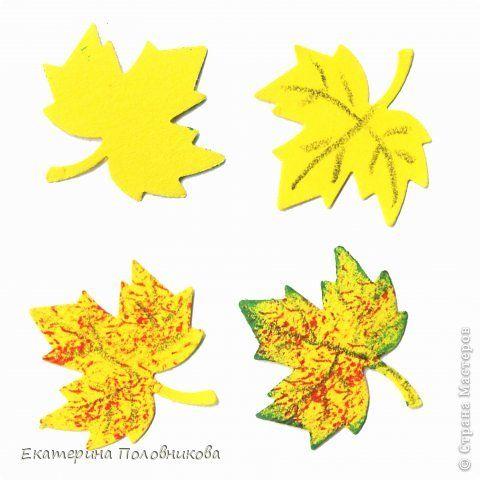 Картинки из листьев своими руками из бумаги