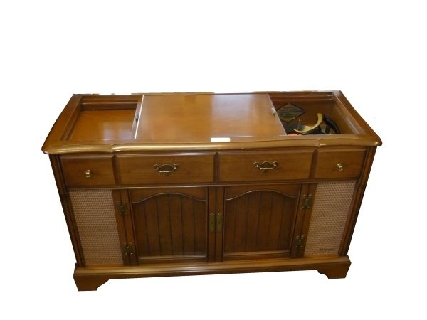 Cool Vintage Record Player Cabinet  Its time to redecorate our hous ...