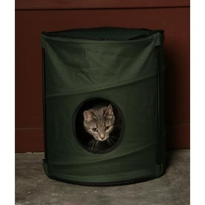 Cat Shelters - Adopting a Stray in Canada - How to keep an outdoor cat ...
