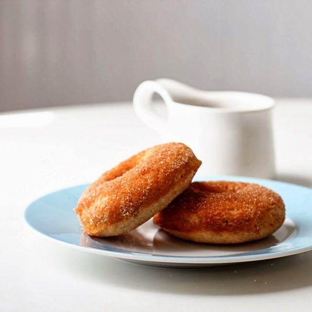 baked cinnamon sugar donuts | Two Tarts | baking | Pinterest