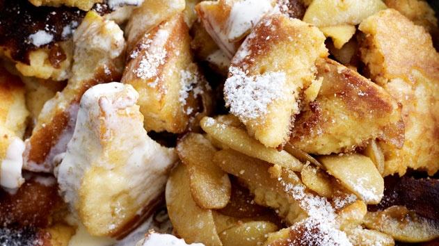 Torn pancakes recipe (kaiserschmarrn)   Recipes   Pinterest