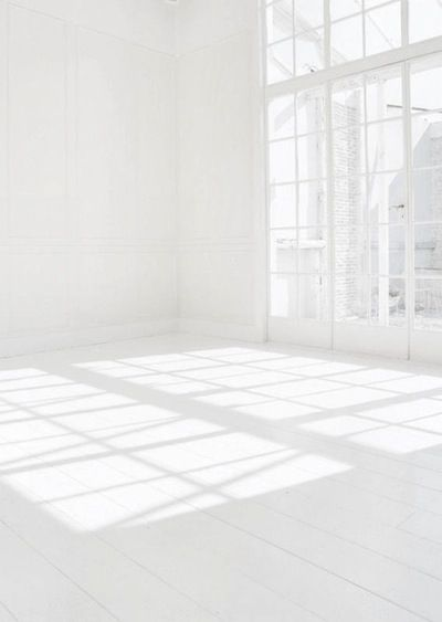 All white space