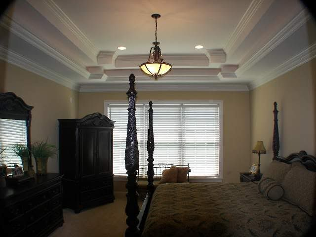 Tray Ceiling In Bedroom Tray Ceilings Pinterest