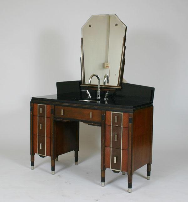 Art deco bathroom vanity for the home pinterest