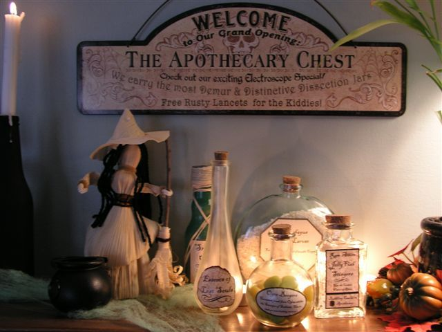Pin by on halloween ideas pinterest for Pagan decorations for the home