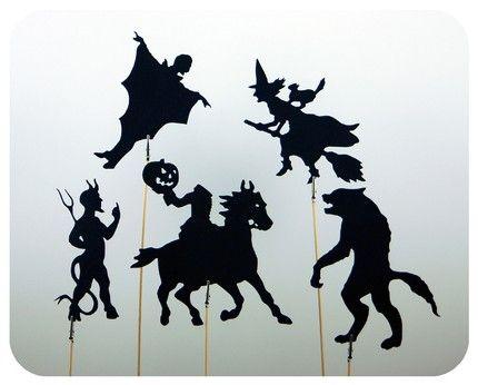 Dramatic Shadow | Shadow Puppet Cutouts | BEGGAR'S NIGHT ...