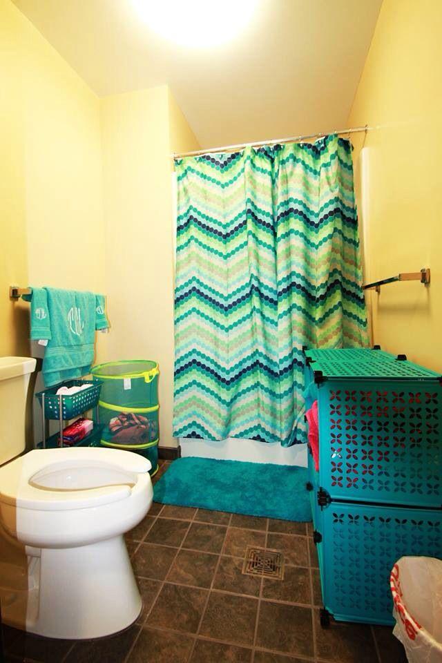 College Bathroom College Life Pinterest