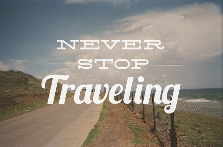 Never, ever. travel quote. Book your stay in sunny San Diego at one