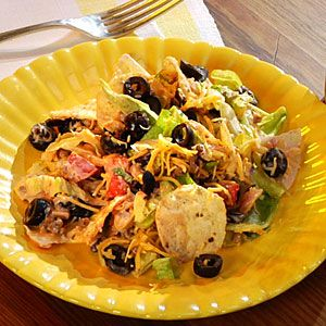 Three-Step Taco Salad from Cooking Light