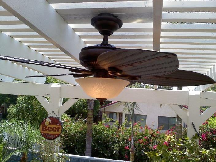 Patio fan Patio ideas Outdoor Spaces & Plants