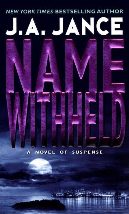 J.a. Jance Novels Jance - Name Wi...
