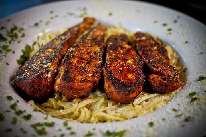 Blackened Chicken Alfredo | 🔪🔪🔪≋Bon ♨ Appétité ...