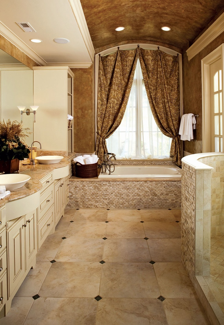 Pin by janet campolongo on dream home master suite for Large master bathroom