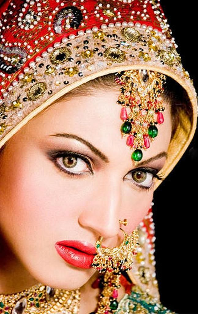 Bridal Makeup and Jewellery indian Ugly-Pretty. Pinterest