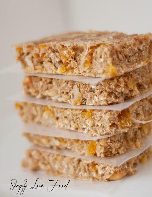 Apricot Oat Bars | Yummy stuff and things to make them | Pinterest