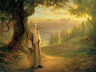 ....overlooking Jerusalem