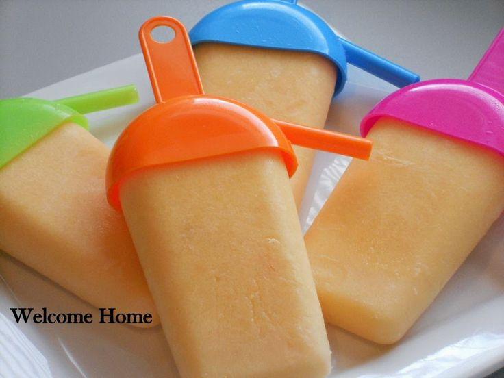Welcome Home: Vanilla-Orange Cream Pops | Ice Cream Recipes | Pintere ...