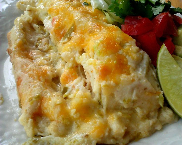Sour cream enchiladas | Recipes - Poultry | Pinterest