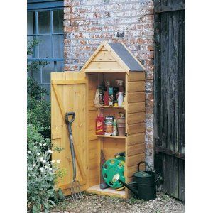 Small tool shed 2 diy pinterest for Small tool shed