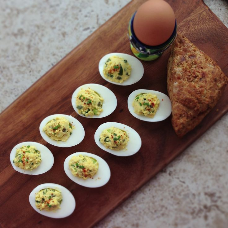 Chipotle Deviled Eggs - Southern style #yummy #food