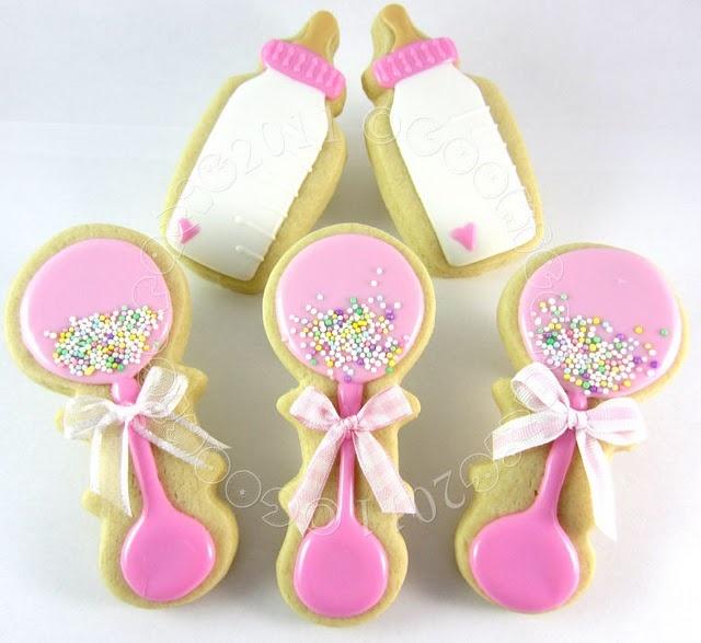 baby girl shower cookies baby shower cookies pinterest