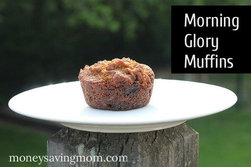 Weeks to Fill Your Freezer: Easy Morning Glory Muffins (Day 17)