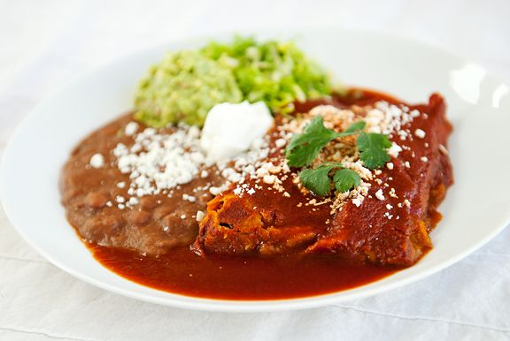 Beer Chicken Green Chile Enchiladas | A love pat for my tummy | Pinte ...
