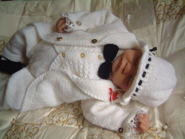 Baby Boy Christening Outfit Knitting Pattern : Baby boy christening outfit childrens knitting patterns ...