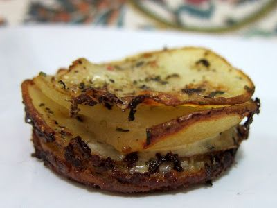 Muffin-Pan Potato Gratins | Potatoes, Vegetables and Side Dishes | Pi ...