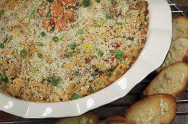 Mediterranean salmon casserole.   Recipes, recipes, more recipes ...