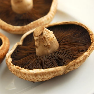 sliced portabella mushrooms  ... Protein: Portobello mushrooms...