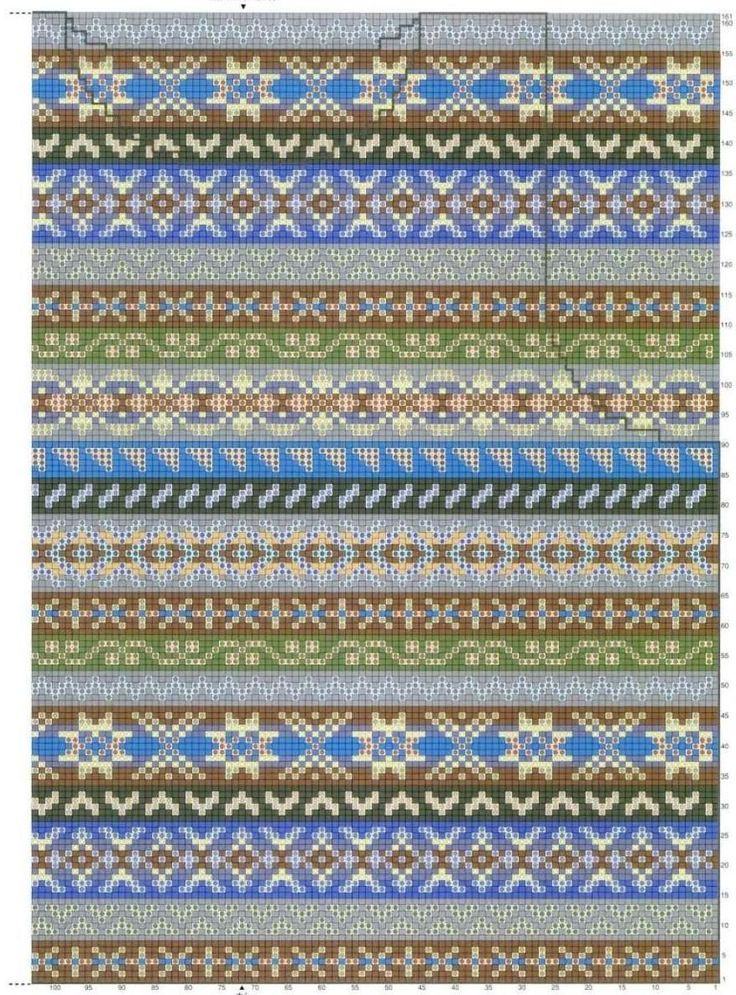 Fair Isle Patterns For Knitting : FAIR ISLE Strikkediagram Pinterest