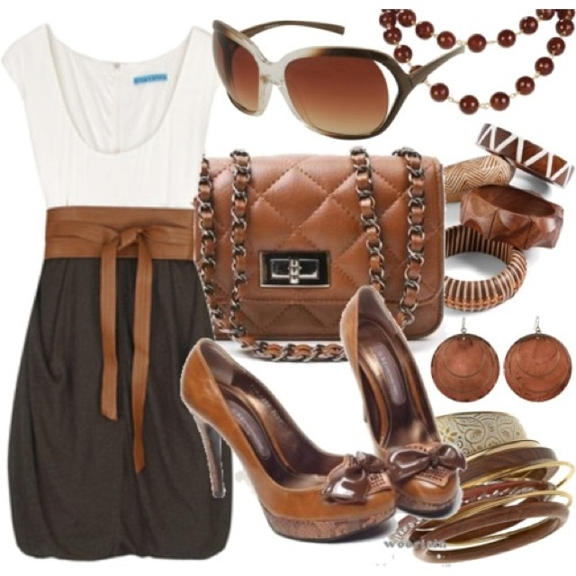 Love The Brown | City Girl Country Charm | Pinterest