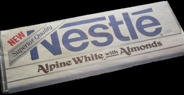 Nestle White Chocolate Almond Candy Bar