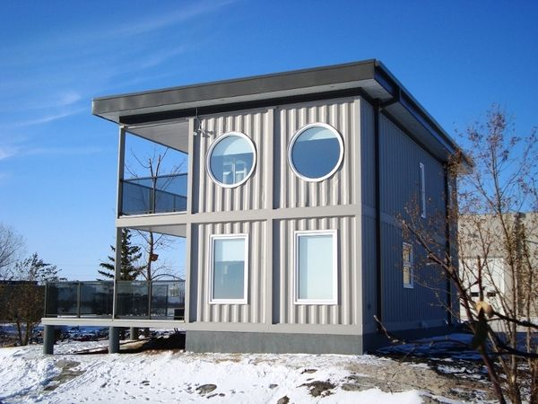 Custom container beach house in the box luxury green for Custom beach house