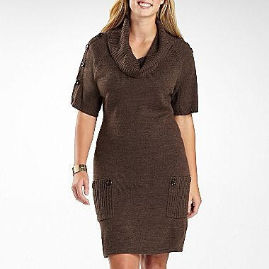 Size Sweater Dress on Worthington   Cowl Neck Sweater Dress Plus   Jcpenney   Plus Size