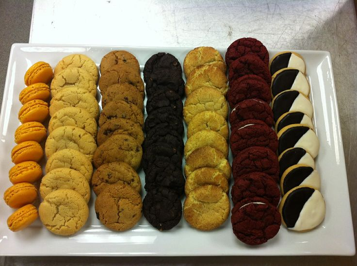 ... , red velvet, and black and white #cookies #alegendaryevent