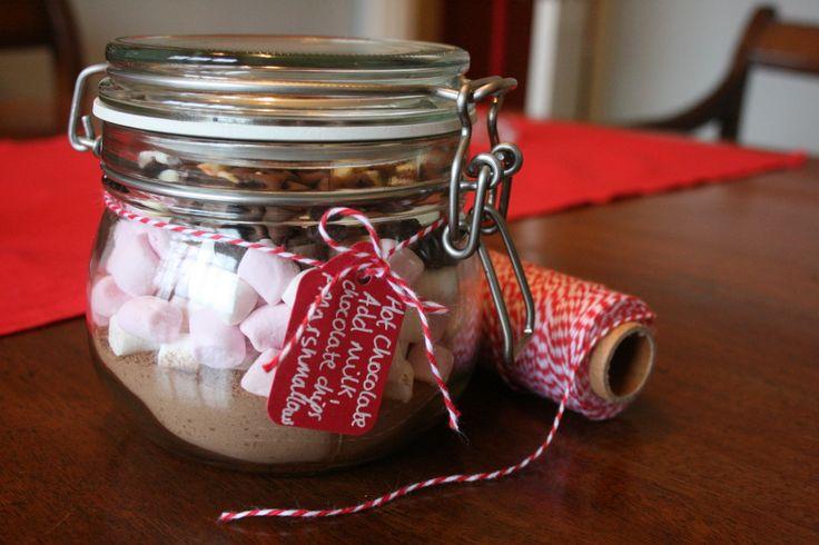 Hot chocolate christmas gifts make amp do pinterest