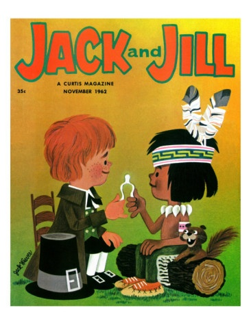 Make a Wish - Jack and Jill, November 1962 Giclee Print (read this magazine all the time)