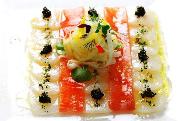 This scallop and tuna ceviche recipe by Chef Gary Jones from Le Manoir ...