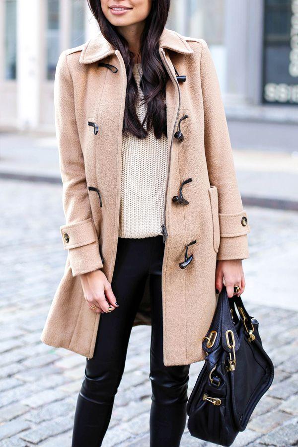 Toggle coat.